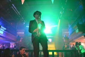 Sax Show, Saxophonist , Saxophonspieler.
